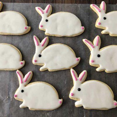 Bunny Cutout Cookies